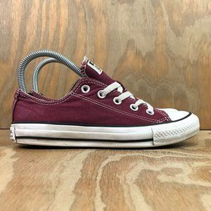 Converse Women's Chuck Taylor All Star Low Maroon